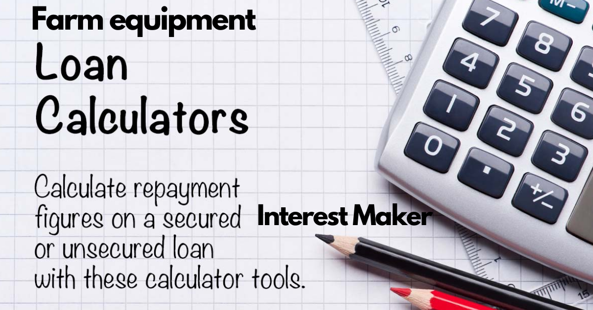 farm equipment loan calculator