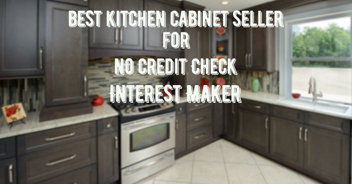 no credit check kitchen cabinets