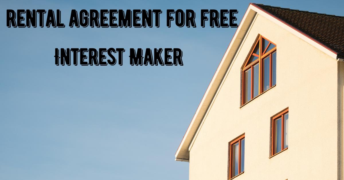 Free printable basic rental agreement pdf