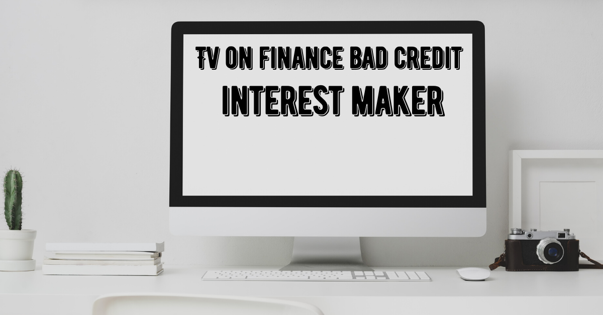 tv on finance bad credit