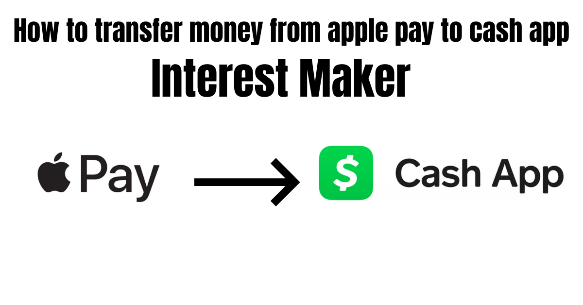 How to transfer money from apple pay to cash app