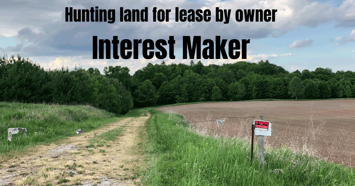 hunting land for lease by owner