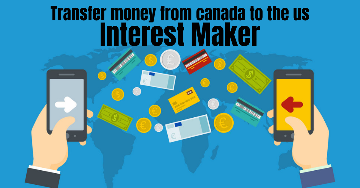 Transfer money from canada to the us