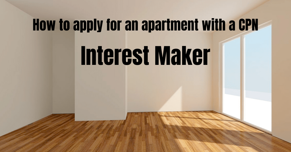 How to apply for an apartment with a CPN