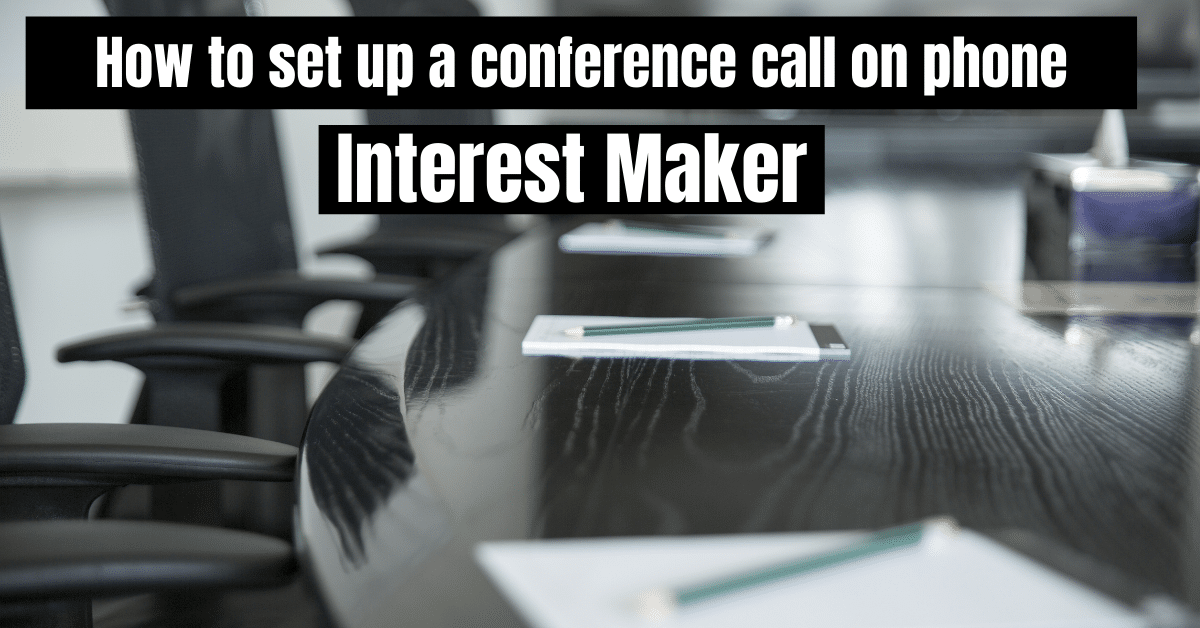 How to set up a conference call on phone